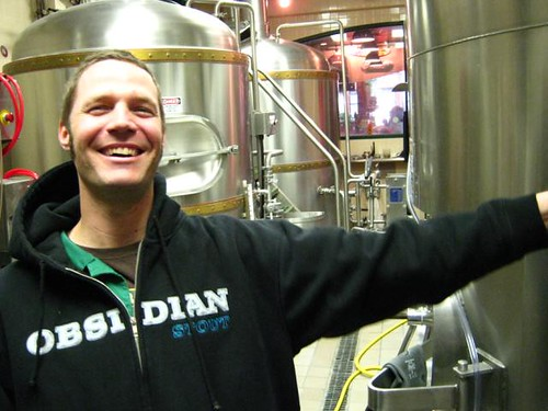 Brewery Ben Shirley in his Obsidian Hoody | by DeschutesBrewery
