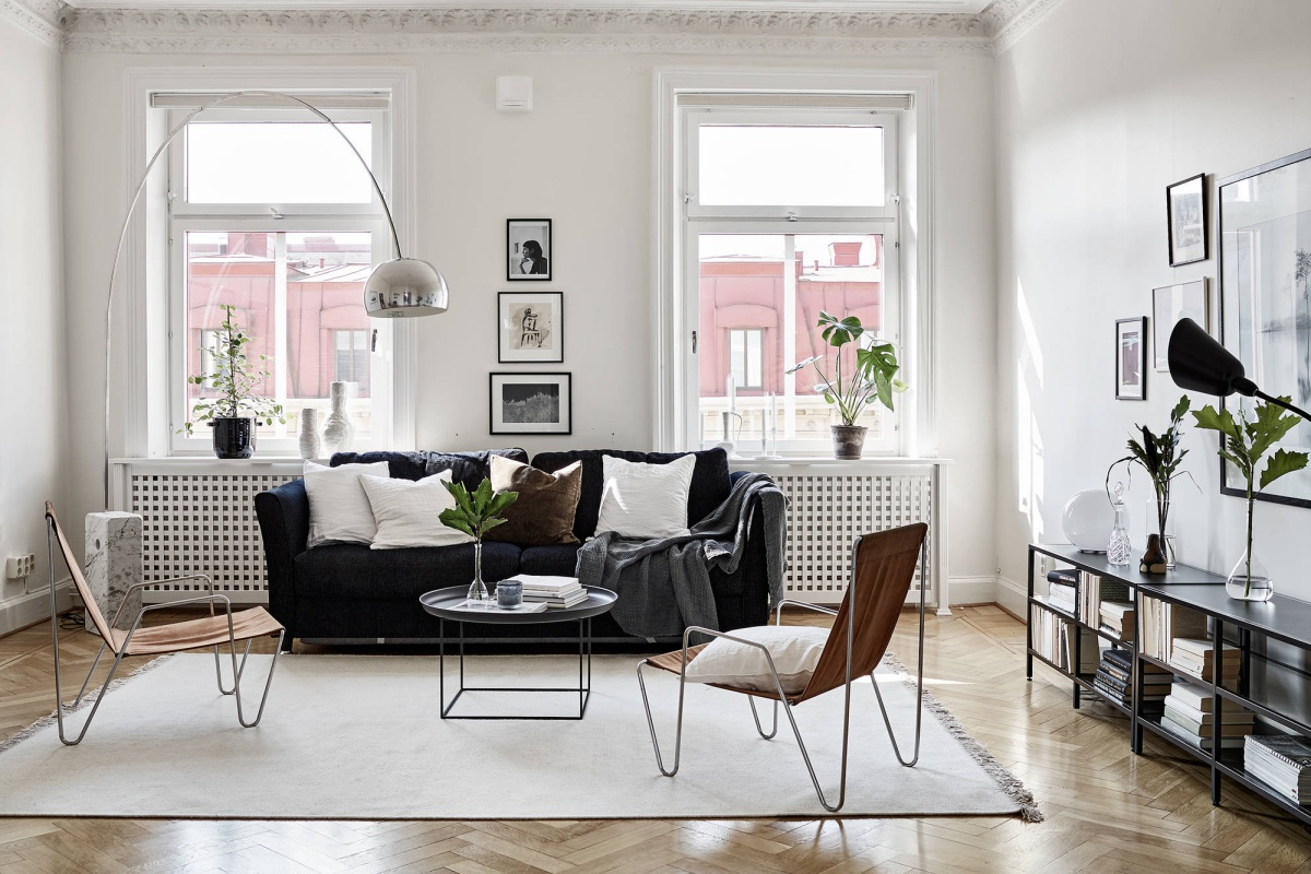 Chic Monochrome Home