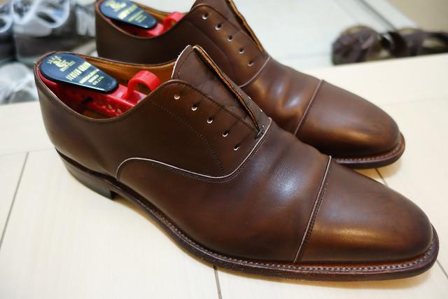 サドルソープ 革靴