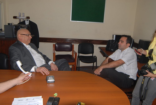 Fernando Lugo Conversando Con Periodistas En La Sala De