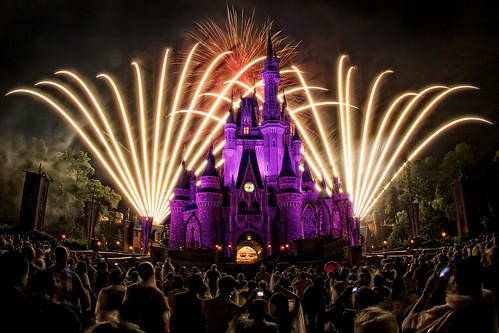 Magic Kingdom - Wishes - Fireworks Spectacular | by Matt Pasant
