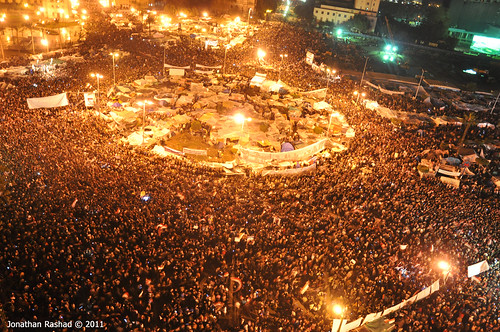 Tahrir Square - February 10, 2011 | by Jonathan Rashad
