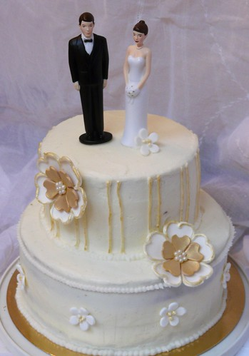 Lucia Wedding Cake | by Sugar Daze
