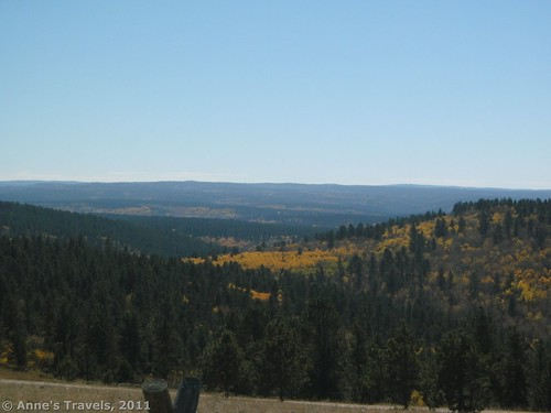October views from Cement Ridge, Wyoming