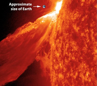 So how BIG was that 'Monster Prominence'? | by NASA Goddard Photo and Video