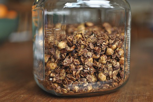 cocoa hazelnut granola | by Marisa | Food in Jars