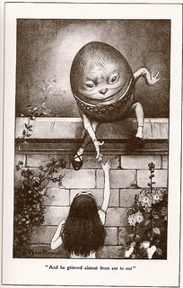 Humpty Dumpty and Alice, Peter Newell Illustration | by tortuga2010