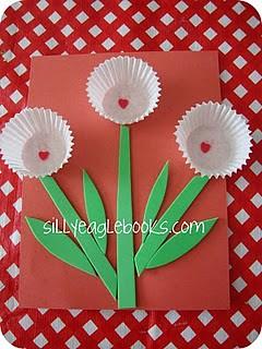 Valentine Craft Flower Make