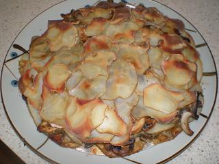 Potato and Mushroom Galette