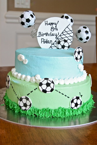 Soccer Cake | by Hungry Housewife