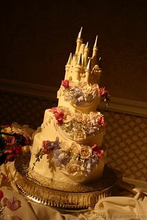 Disney wedding cake | by magicalkingdoms