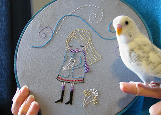 Day 11: Birdie Embroidery | by Wendymoon Designs