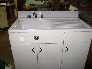 Restore Vintage Metal Kitchen Cabinets