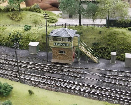 Sidmouth signal box