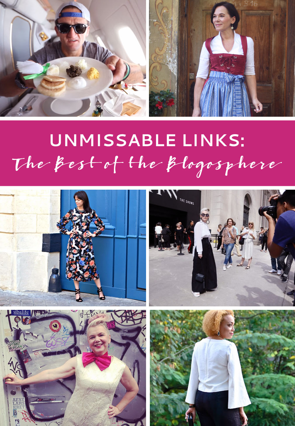 13 Unmissable Links | The Best of the Blogosphere - September 2016 | Not Dressed As Lamb