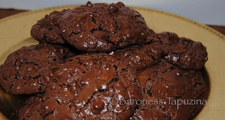 Flourless Chocolate Walnut Cookies | by BaronessTapuzina