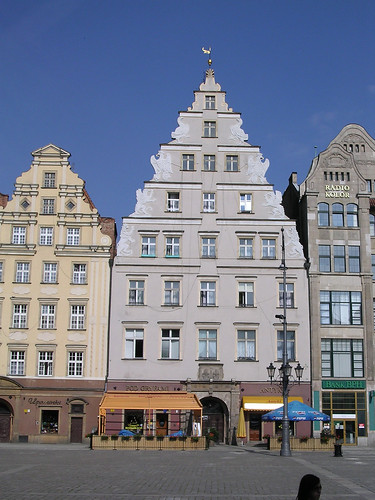 Griffin House Rynek Wroclaw View Of Facade Flickr