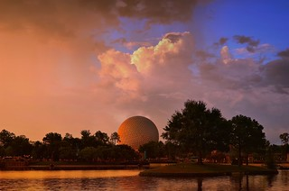 World Showcase Sunset | by Express Monorail