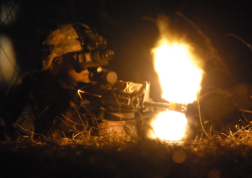 Returning fire | by The U.S. Army