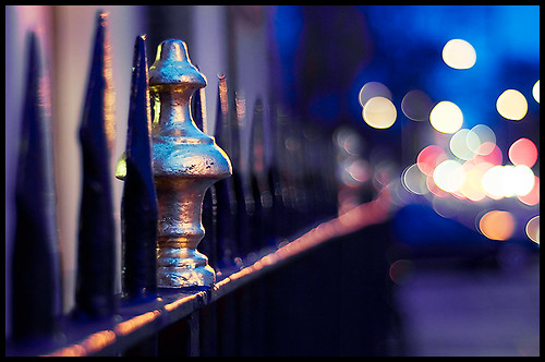 The Fence Bokeh Container is Leaking....[Explored] | by PhotoJunket