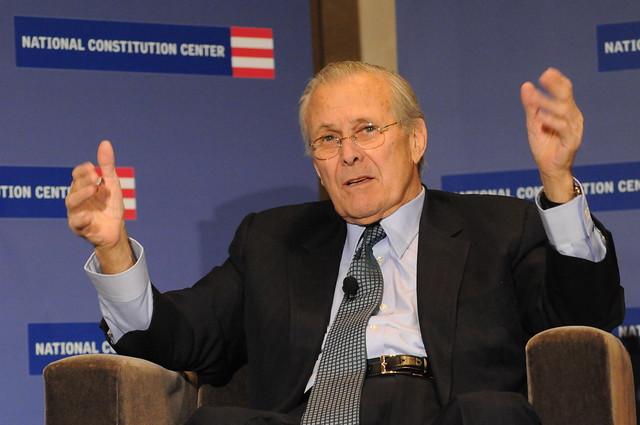 Donald Rumsfeld 2/9/11
