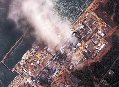 fukushima explosions from  air, taken by global Hawk drone. | by naturalflow
