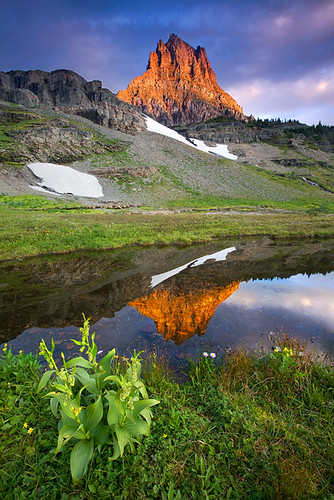 Clements Mountain Dawn -- Glacier National Park, MT | by Light of the Wild