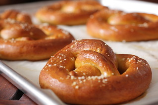 pan of pretzels | by Madison Bistro
