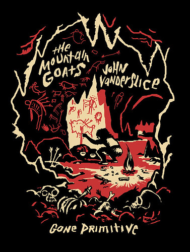 Gone Primitive Tour tshirt | by featherbed