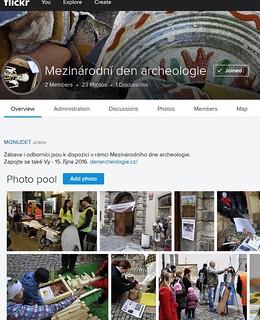 Mezinárodní den archeologie na Flickru