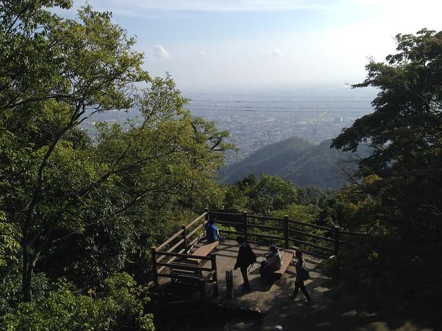 金華山 山頂展望台