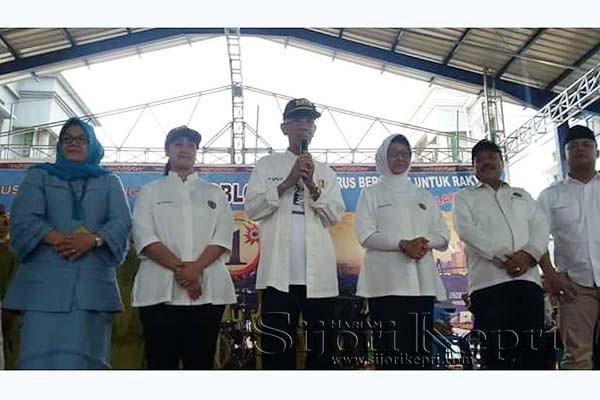 Calon Gubernur Kepri Nomor Urut 1, Muhammad Sani, dari Rumah Pemenangan Calon Walikota dan Calon Wakil Walikota Batam 2015, Rudi - Amsakar Achmad alias RAMAH.