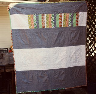 kyle's quilt back | by artsy-crafty babe