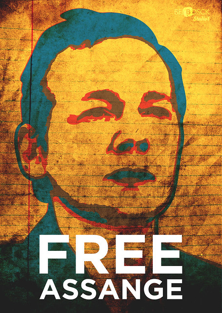 Free Assange HD, RGB