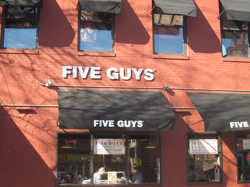 Five Guys. New York