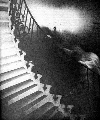 Ghost on the tulip staircase, Greenwich