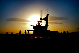 Apache sunset | by The U.S. Army
