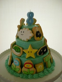 MARIO CAKE | by Cbonbon cookie