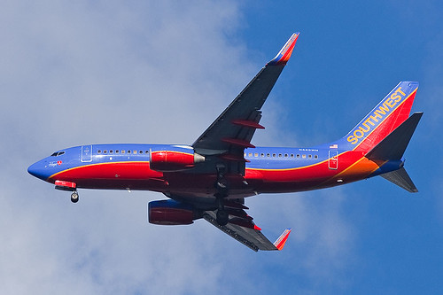 "Southwest Airlines Boeing 737-7H4 ""The Spirit of Hope"" N443WN 