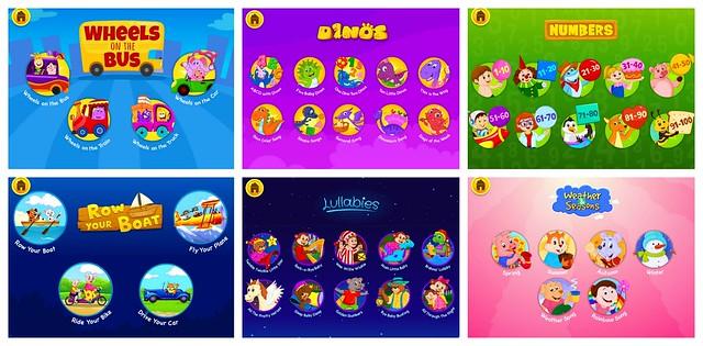 KidloLand App Songs