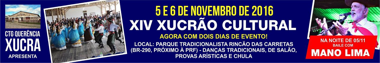 Anúncio XIV Xucrão Cultural