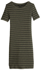 g21 Ribbed Dress T-Shirt Dress
