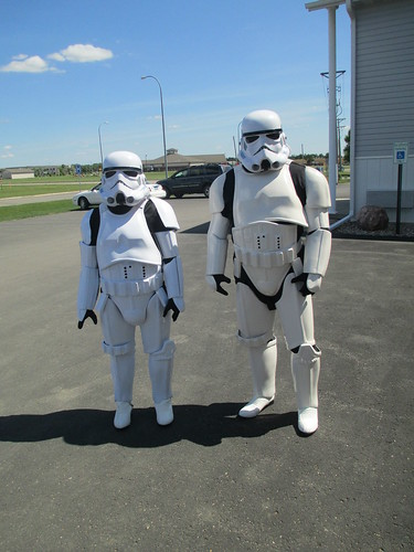 Storm Troopers Coming to Visit | by RealTruck