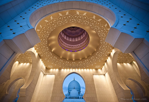 Depth from Dome to Dome - Sheikh Zayed Grand Mosque | by www.thameralhassan.com Thamer Al-Hassan