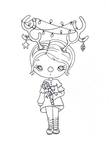Free coloring page for your little one...or you | by the poppy tree