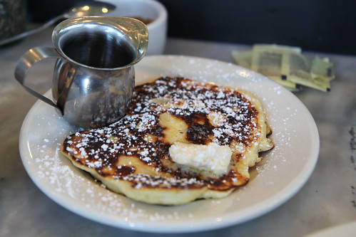 Lemon Ricotta Pancakes at Plow | by joeywan