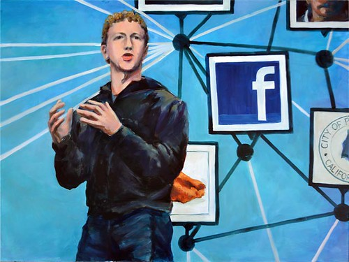Internet memes | Zuckerberg: This Facebook Guy - oil portrait by A. Fudyma-Powers | by a.powers-fudyma