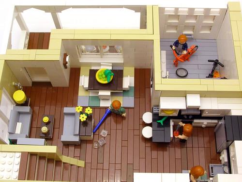 Contemporary family home 03 a contemporary family home f flickr - Lego house interior ...