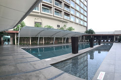 Bangalore - JW Marriot pool