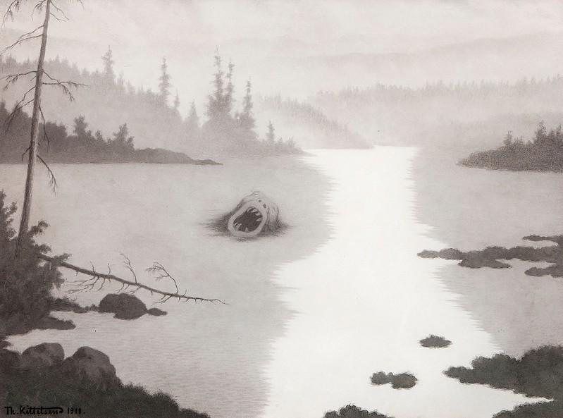 Theodor Kittelsen - Nokken Screams